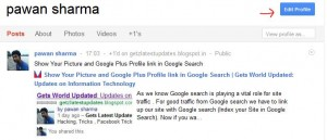Google Picture in search