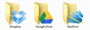 Google Drive Sky Drive Dropbox cloud computing