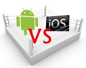Android vs ios6