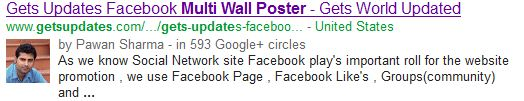 Google Plus Search in Blogger