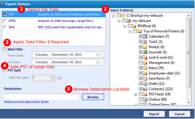 System Tools Outlook